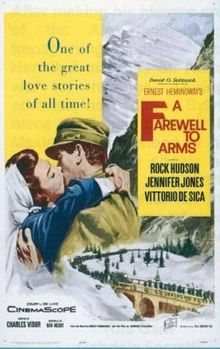 poster A Farewell to Arms (1957)
