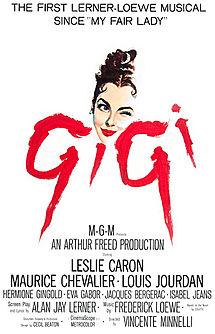 poster Gigi (1958)