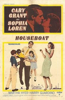 poster Houseboat (1958)