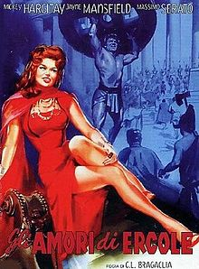 poster The Loves of Hercules (1960)