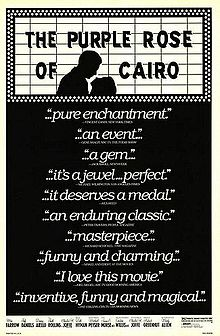 poster he Purple Rose of Cairo (1985)