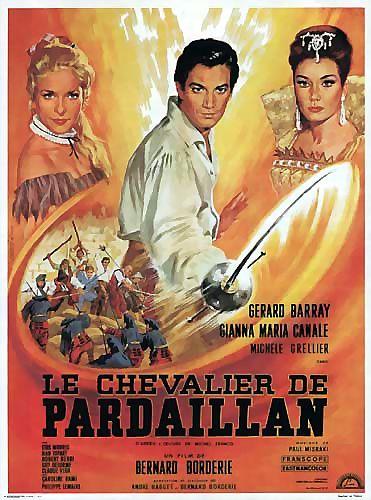 poster Le Chevalier de Pardaillan (1962)
