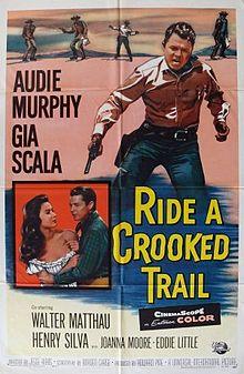 poster Ride a crooked trail aka l'étoile brisée (1958)