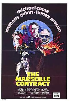 poster The Marseille Contract (1974)