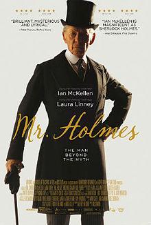 poster Mr. Holmes (2015)