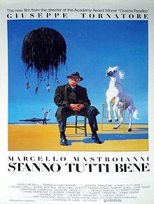 poster Stanno tutti bene (1990)