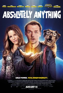 poster Absolutely Anything (2015)