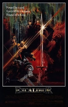 poster Excalibur (1981)