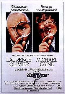 poster Sleuth (1972)