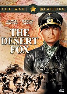 poster The Desert Fox The Story of Rommel (1951)