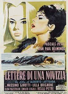 poster Lettere Di Una Novizia (1960)