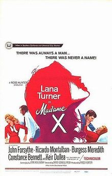 poster Madame X (1966)