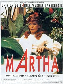poster Martha (1974)