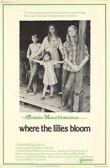 poster Where The Lilies Bloom (1974)