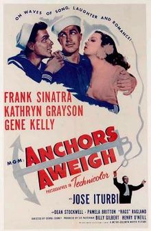 poster Anchors Aweigh (1945)