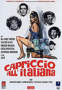 poster Capriccio all'italiana (1968)