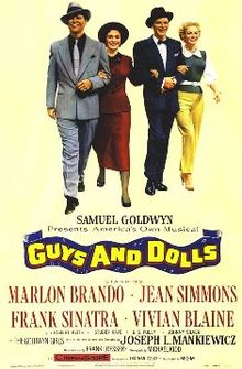 poster Guys And Dolls (1955)