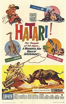 poster Hatari! (1962)