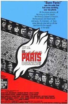 poster Is Paris Burning (1966)