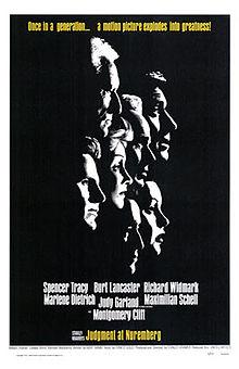poster Judgement At Nuremberg (1961)