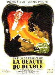 poster La Beauté du diable (1950)
