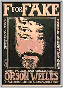 poster F For Fake - Vérités et Mensonges (1973)