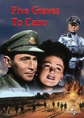 poster Five Graves To Cairo (1943)