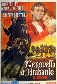 poster Genoveffa di Brabante - The Revenge of the Crusader (1964)