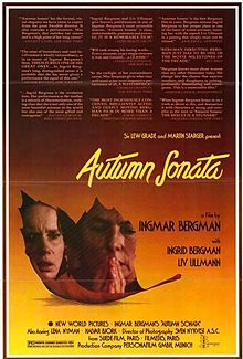 poster Hostsonaten - Autumn Sonata (1978)