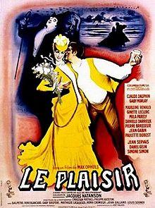 poster Le Plaisir (1952)