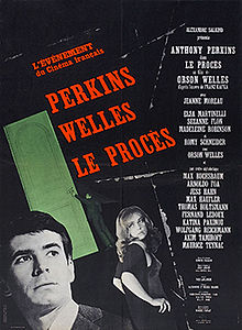 poster Le procès - The Trial (1962)