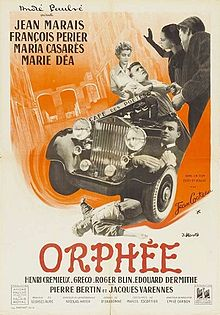 poster Orphee - Orpheus (1950)