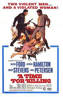 poster A Time For Killing (1967)