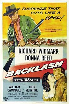 poster Backlash (1956)