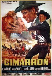 poster Cimarron (1960)