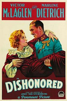 poster Dishonored (1931)