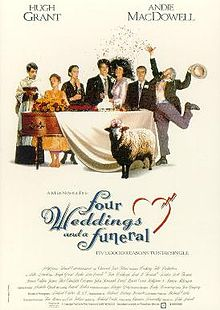 poster Four Weddings And A Funeral (1994)