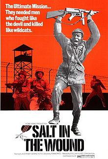poster Il dito nella piaga - Salt in the Wound (1969)