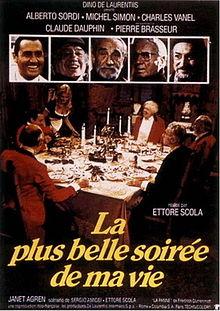poster La Piu Bella Serata Della Mia Vita (1972)