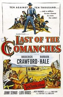 poster Last Of The Comanches (1953)
