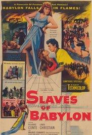 poster Slaves Of Babylon (1953)