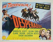 poster The Desperadoes - Les desperados (1943)
