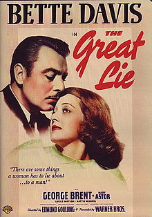 poster The Great Lie (1941)