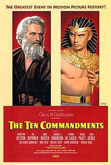 poster The Ten Commandments (1956)