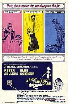 poster A Shot In The Dark (1964)