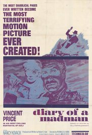 poster Diary Of A Madman (1963)