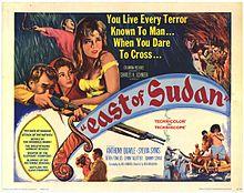 poster East Of Sudan (1964)