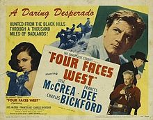 poster Four Faces West (1948)