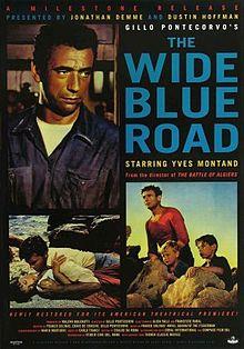 poster La Grande Strada Azzurra (1957)