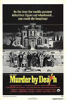 poster Murder By Death (1976)